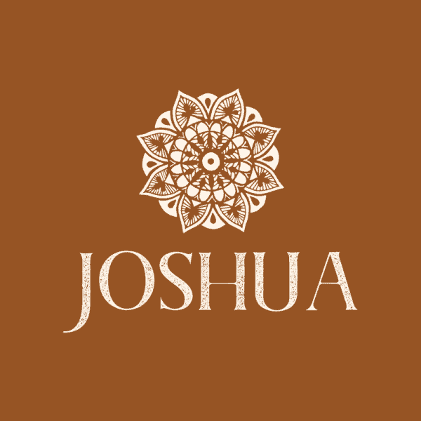 Textured logo example