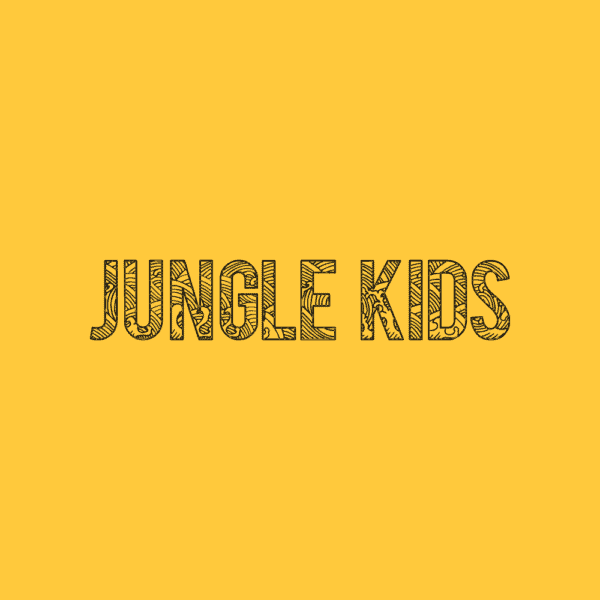 Yellow kids logo